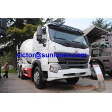 Caminhão do misturador de 6x4 Euroiii HOWO A7