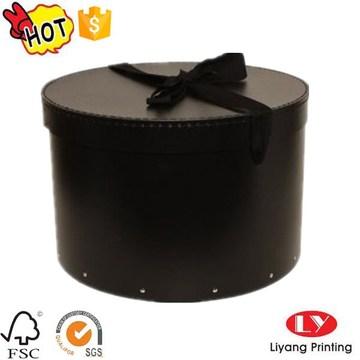 Luxury custom hat packaging box with lid