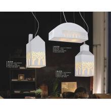 Graceful Design Carbon Steel and Acrylic Pendant Light