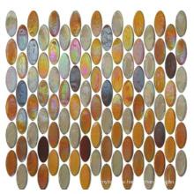 Mixed Color Glass Tile Decoration Mosaic