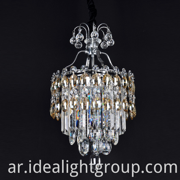 octagon beads chandelier