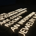 WORDS WALL LED LETTERS النيون