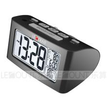 Nap Reloj de escritorio LCD con medición de temperatura interior (CL156)