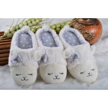 funny sheep goat plush indoor slipper