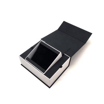 Latest Design Premium Luxury Gold Foil Logo Magnetic Closure Watch Storage Display Custom Watch Gift Box