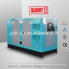 100KW 125kva gerador a diesel à prova de som, gerador diesel de baixo ruído