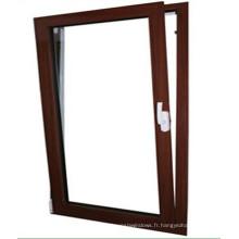 Haute qualité de l'inclinaison en aluminium Turn Windows