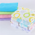"""Pre-washed 100% Cotton Muslin Fitted Crib Sheet 52"""" x 28"""", 1 Count"""