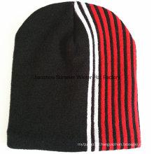 Qualitäts-Förderung-Beanie-Hut kundenspezifische Logo-Entwurfs-Mütze