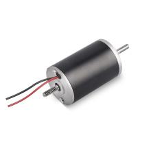 Micro-moteur DC à ventilateur à engrenages à double arbre totalement inclus