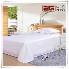 100% Algodão 40s * 40s Puro White Plain Fabric Atacado Hospital Folha de cama