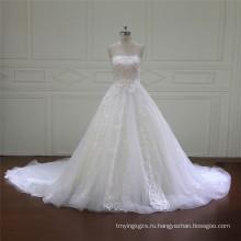 Без бретелек атласная халаты для невесты (XF16016)
