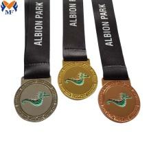 Conjunto de medalhas esportivas personalizadas de alta qualidade