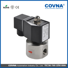 Новый продукт Электрический соленоид водяного клапана 2WS025-08 / высокое давление, нормально закрытый, VITON, электрический электромагнитный клапан 12v вода