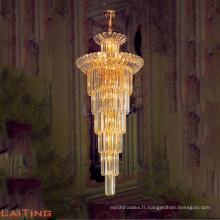 Lustre d'éclairage de luxe intérieur suspension sur lustre 9023