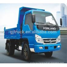 4x2 Foton Forland loading dump truck