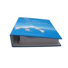 Alta qualidade Fancy Hardcover Loose Leaf Book Printing