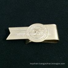 Custom Shape Stainless Steel Cheap Money Clip for Promotion