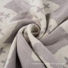 Light Weight Reversible Cotton Knit Baby Blanket CB-K16013