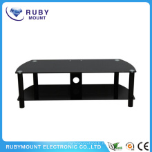 Black Color Designs Petit moniteur Riser TV Stand
