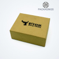 New custom shoe packaging box with logo print