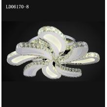 novo moderno k9 lâmpada de cristal lustre de cristal lustre de bola de vidro