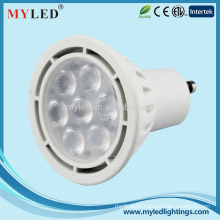 Myled 2015 new product LED GU10 7w hight lumen theater spotlight for sale
