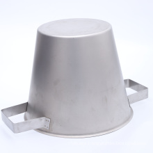 OEM high quality customized water bucket as per design stainless steel  bucket