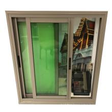 Foshan manufacturer champagne colour aluminium window