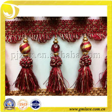 European Style Curtain Tieback Tassel Fringe Trimming For Curtain Pillow Sofa Covers Decoration