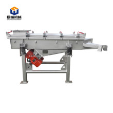 large capacity linear vibrating sifter for food industry