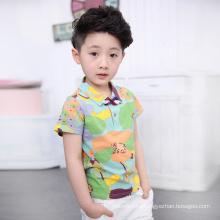 La ropa caliente del verano de la venta fija la camiseta de los niños para cómodo