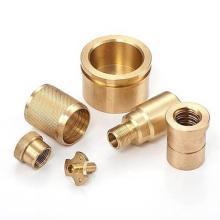 Customized high quality CNC turning mechanical brass parts brass cnc