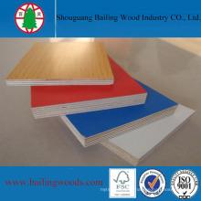 Full Hardwood Melamine Face Plywood for Cabinet