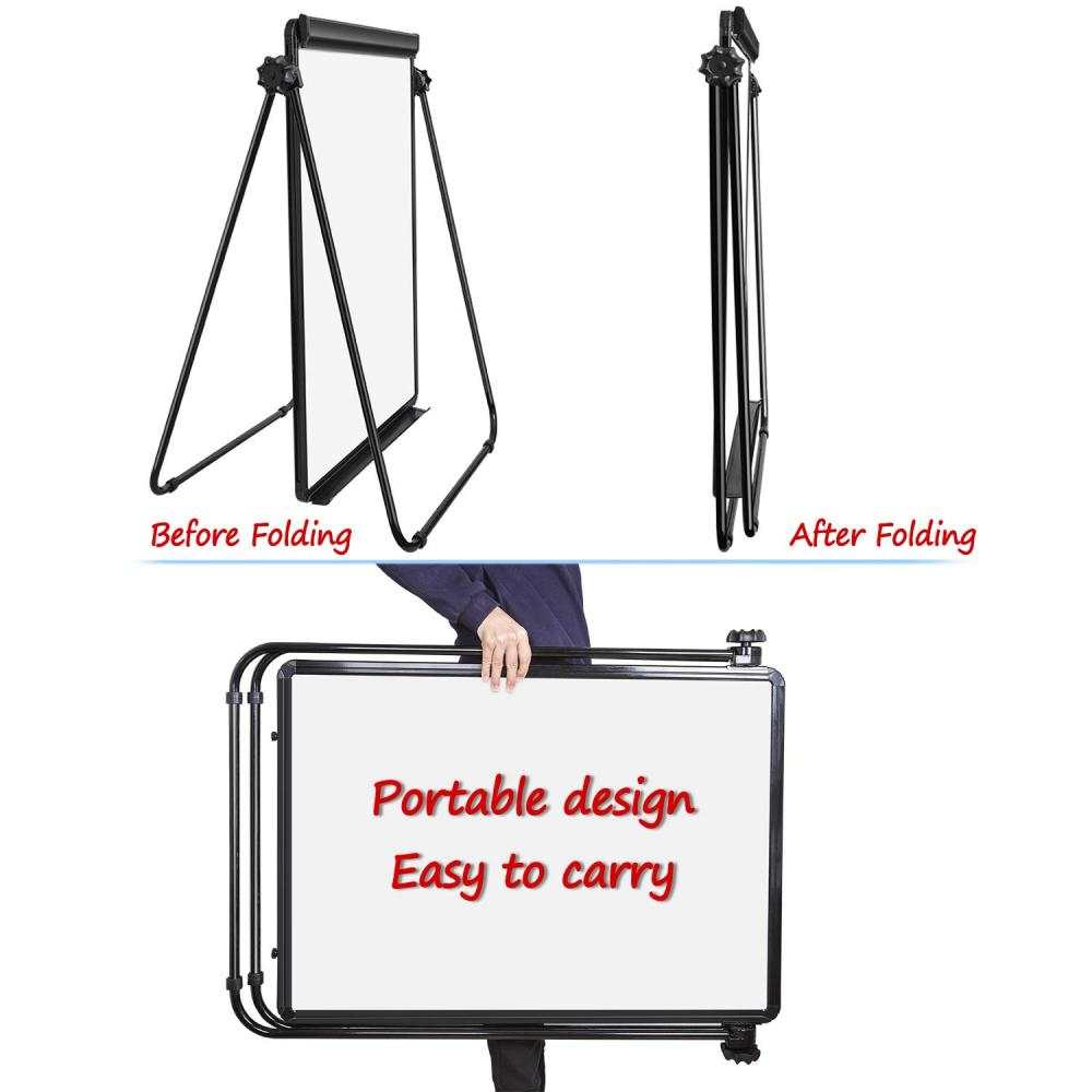 folding magnetic white writing board