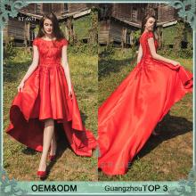 Bella Braut Designer roten Kleider Guangzhou verschiedenen Arten von Frocks Designs lange prom Kleid