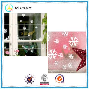 Романтический Рождество статического цепляться стикер окна