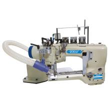 QS-62G 4 needle 6 thread Feed off arm flat seamer machine Chainstitch Industrial Sewing Machine