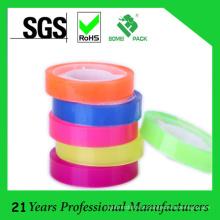 Fita colorida dos artigos de papelaria do comprimento de 25mm