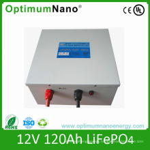 Un38.3 Certificated 12V 120ah LiFePO4 Battery for Solar System