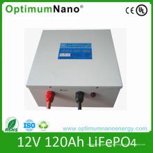 12V 120ah LiFePO4 Аккумулятор для солнечного хранения