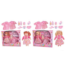 13 Inch Pretty Platisc Baby Doll with Music (10221174)