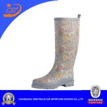 Women Rubber Rain Boot Foaming Technology