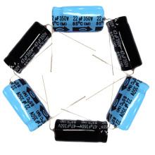 Topmay 350В Алюминиевый Электролитический конденсатор Аксиальный Тип Tmce15-20