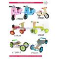 Children's wooden balance bike, colorful cartoon wooden frame, new design 2016