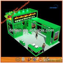 Équipement de salon commercial de forme d'île avec la conception de stand d'exposition de construction de stand d'exposition