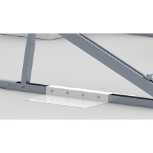 Sistema de montaje de triángulo ajustable solar techo plano Solaranlage