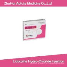 Injection de chlorhydrate de lidocaïne