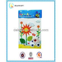 DIY Mosaic art /mosaic sticker/educational toys for kids