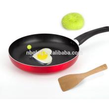 enamel fry pan & cooking pot & carbon steel with enamel coating